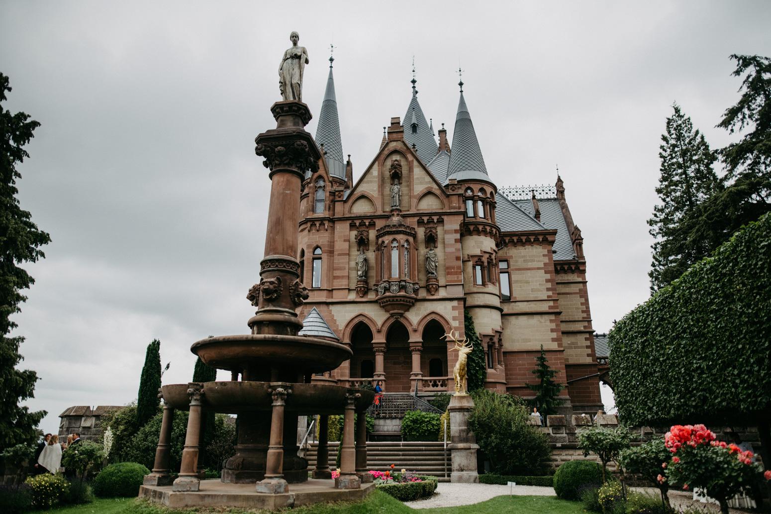 Sektempfang auf Schloss Drachenburg in Königswinter