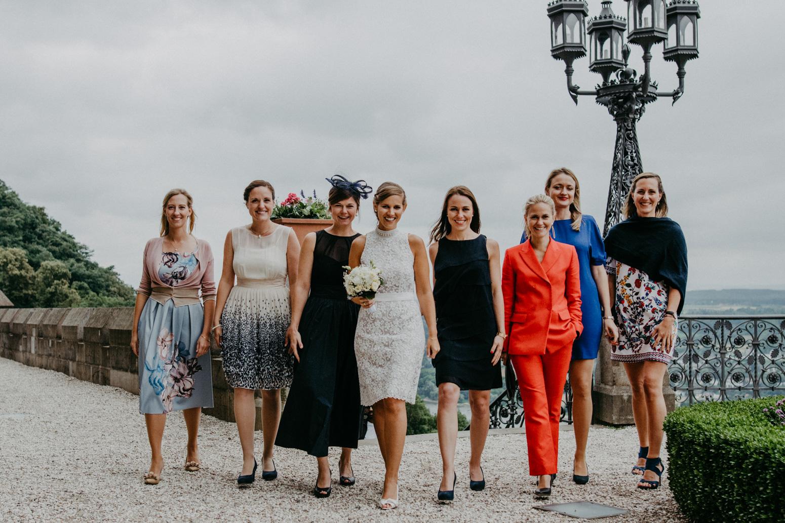 deutsch-amerikanische Hochzeit auf Schloss Drachenburg in Königswinter, fotografiert von der Hochzeitsfotografin Daria Becker